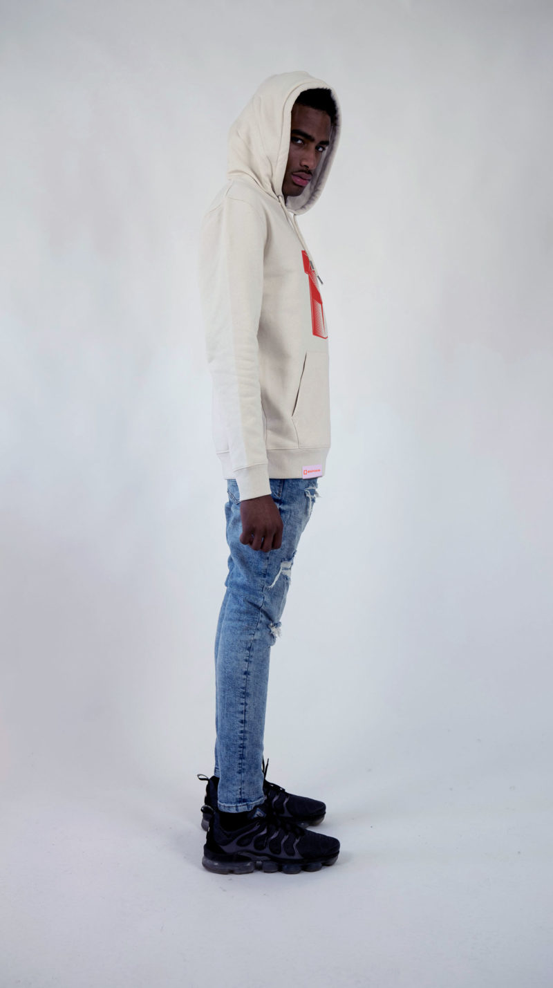 Ethics clothing Ethics hoodie hope offwhite side 3