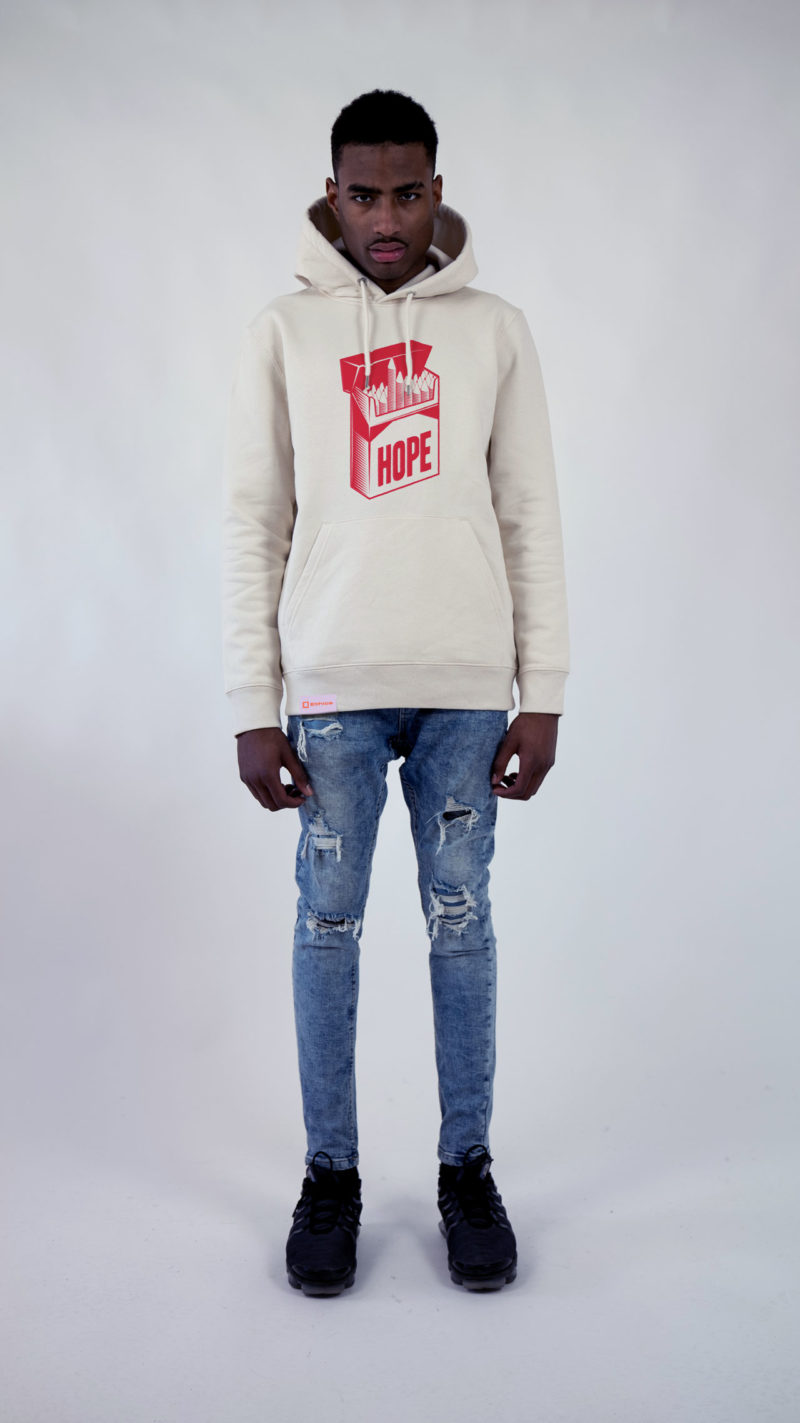 Ethics clothing Ethics hoodie offwhite
