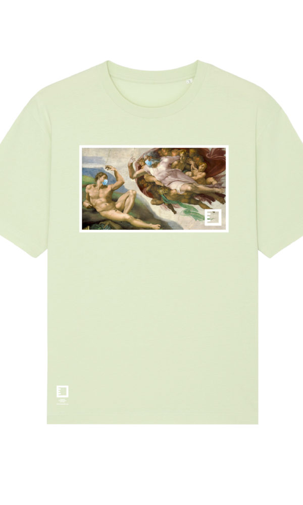 Ethics clothing ethics t shirt michelangelo stem front
