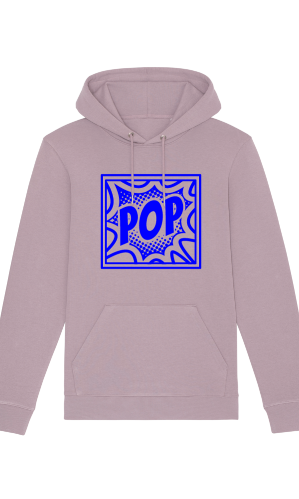 Ethics hoodie POP Lilac front