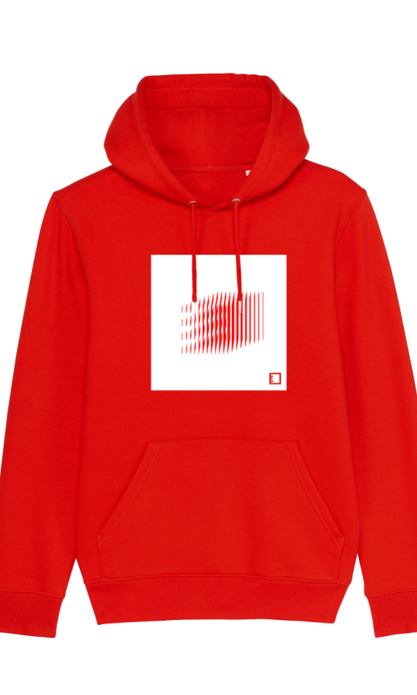 Ethics hoodie basics one red front