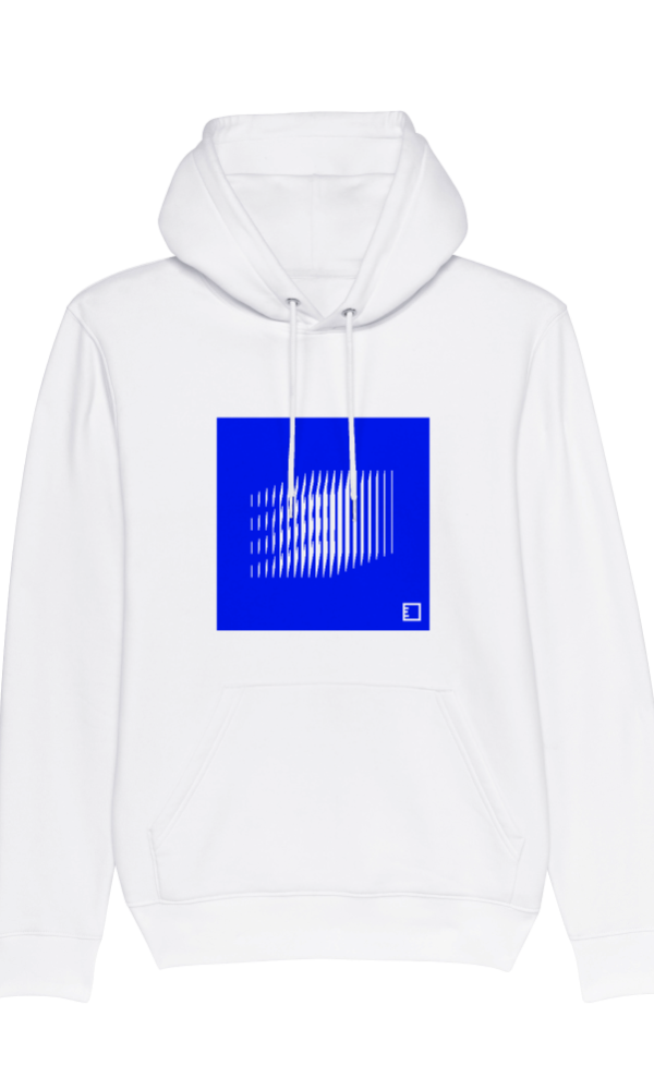 Ethics hoodie basics one white front
